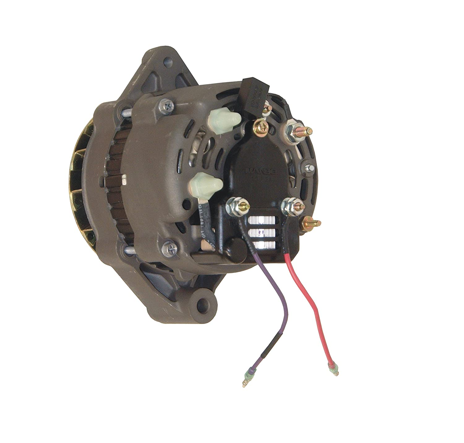 New Premium SAEJ1171 Certified Alternator 12V 55 Amp for Mercruiser on