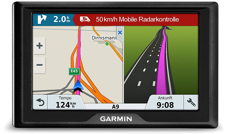 Garmin Drive 51 Central EU LMT-S Navegador GPS con mapas de por vida y tr/áfico v/ía m/óvil pantalla de 5, mapa Europa completo