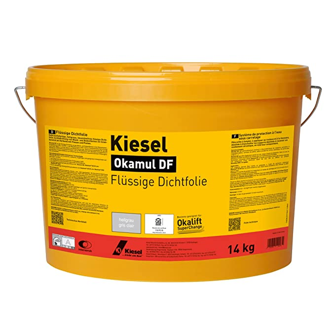 Kiesel Okamul DF - Flüssige Dichtfolie Hellgrau (14KG): Amazon.de ...