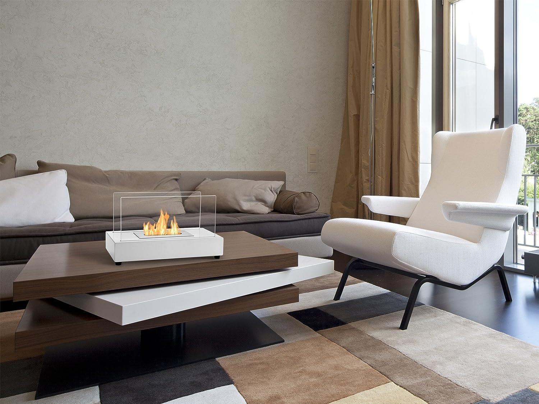 Tower Ignis Portable Tabletop Ventless Bio Ethanol Fireplace Black