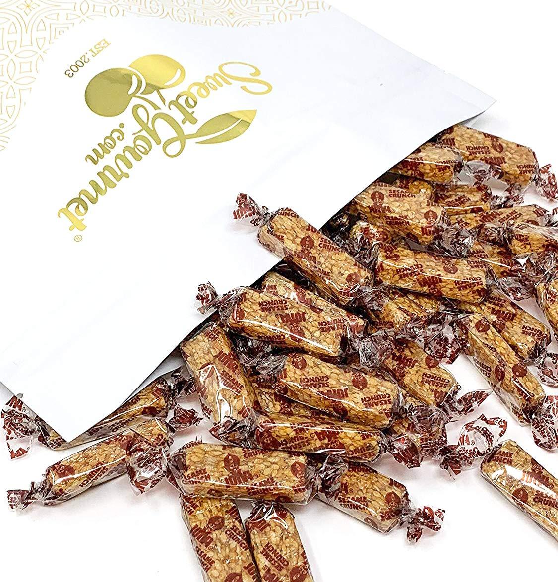 Joyva Sesame Honey Crunch - all natural, kosher candy 3 pounds by SweetGourmet