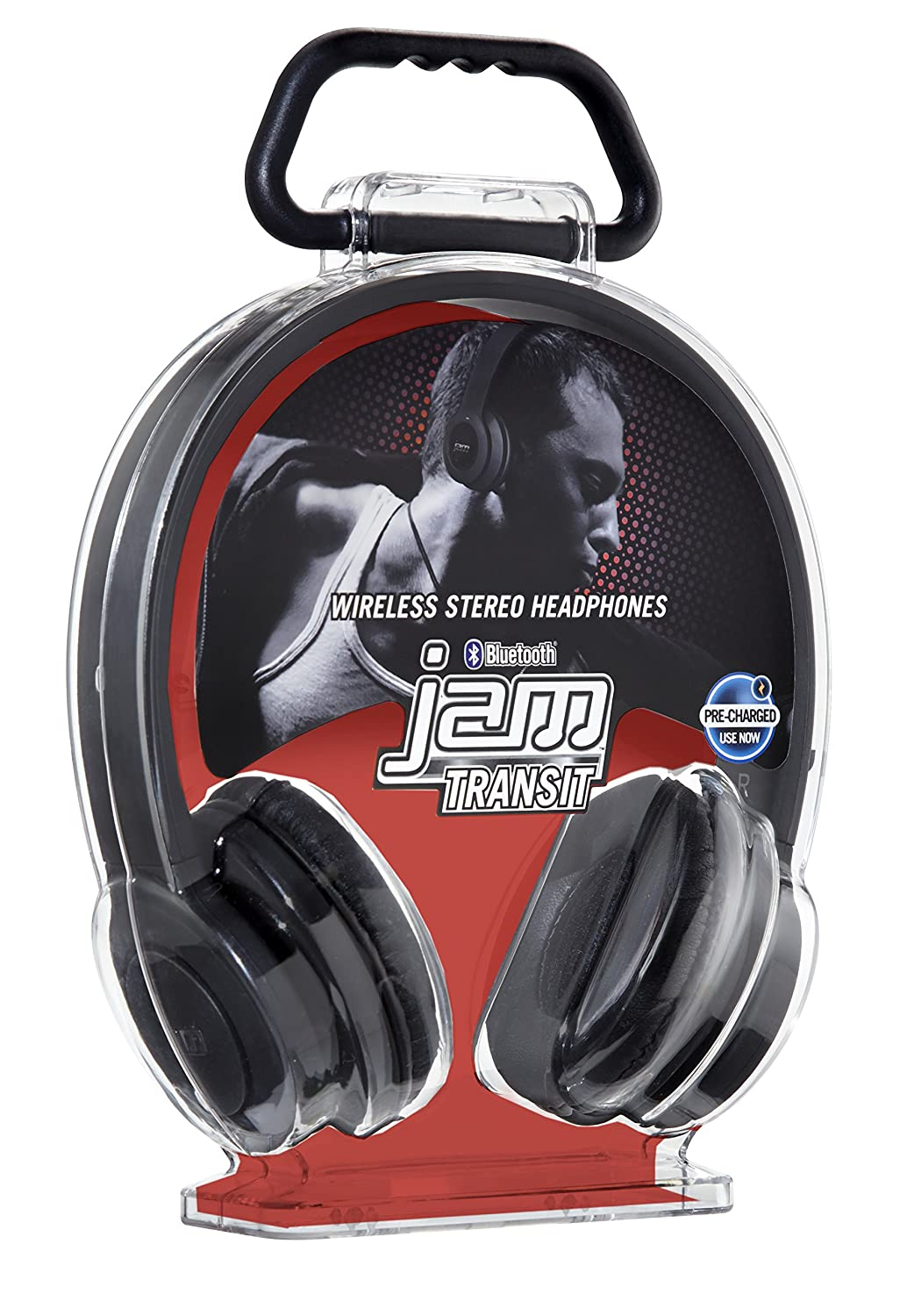 Jam transit bluetooth headphone with microphone black amazon co uk electronics