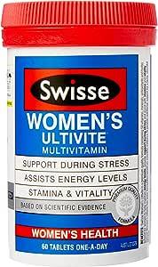 Swisse Womens Ultivite 60 Tablets