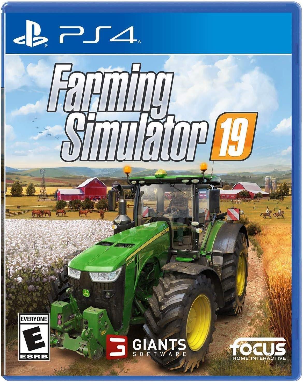 Amazon com: Farming Simulator 19 - PlayStation 4: Maximum