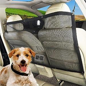 ROKF Red de Seguridad para Mascotas, para Coche, Coche, Viaje, Mascota,