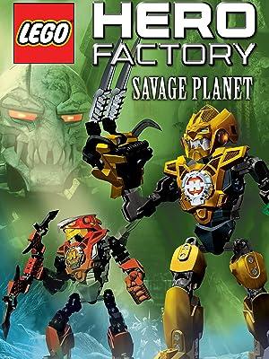 Amazon.com: LEGO Hero Factory: Savage Planet: John Schneider ...