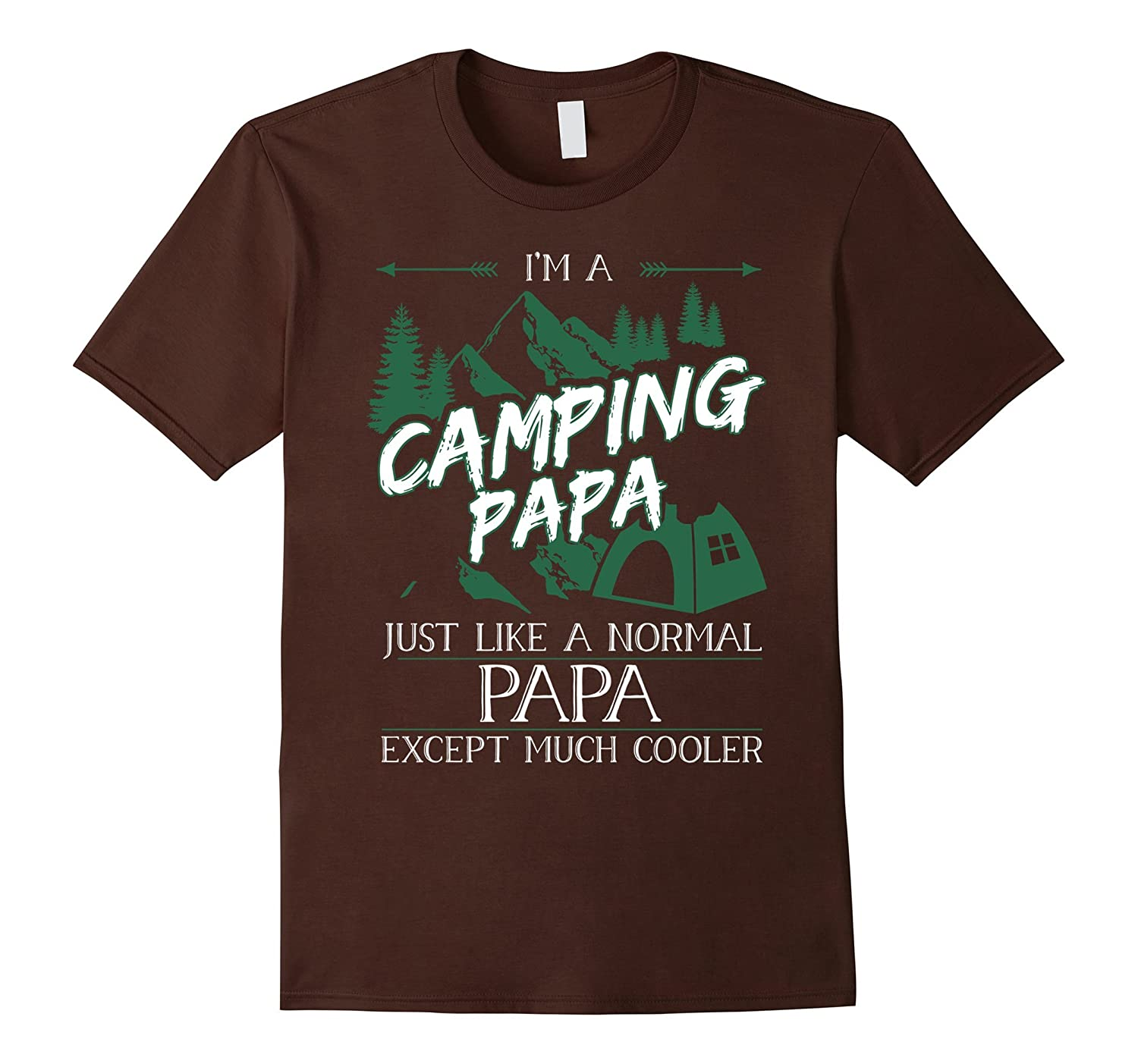 mens im a camping papa t shirt camping papa tshirt goatstee. Black Bedroom Furniture Sets. Home Design Ideas