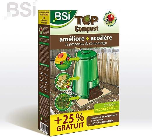 BSI Top Compost - Acelerador Profesional para abono Compuesto: Amazon.es: Jardín