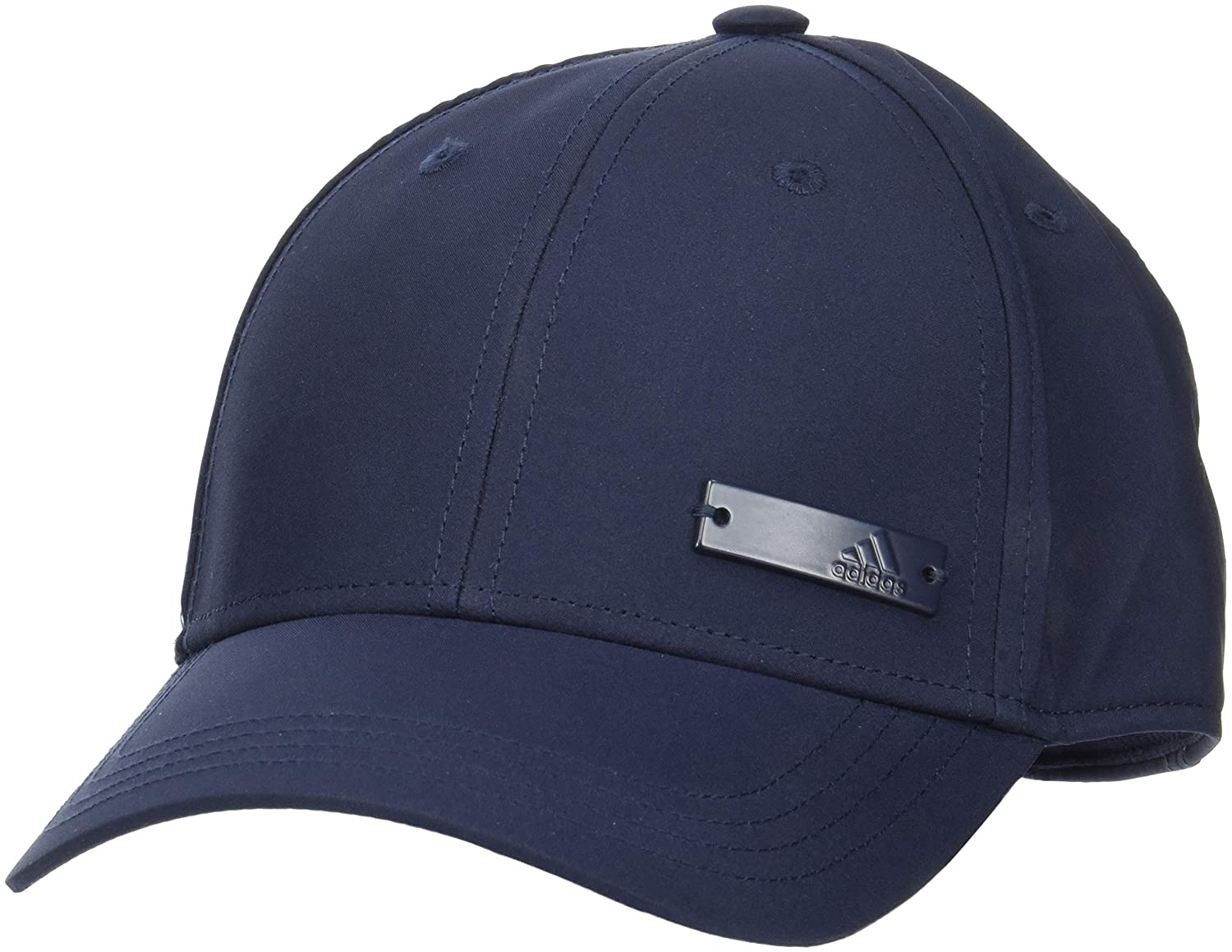 adidas 6 Panel Lightweight Metallic Cap, Unisex, DJ0945, Legend
