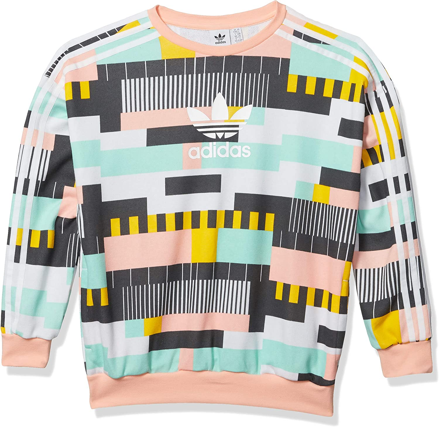 adidas Originals Kids' Big Juniors Crewneck Sweatshirt