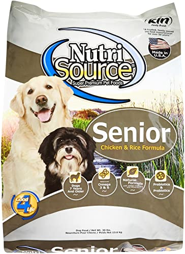 Tuffy S Pet Food Nutrisource Senior Dog Chicken Rice Food