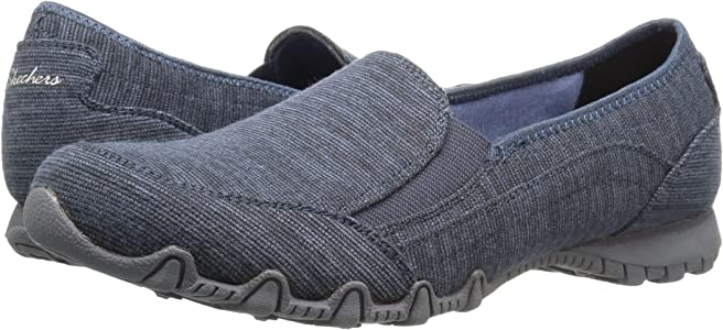 zapato skechers bikers lounger loafer mujer review