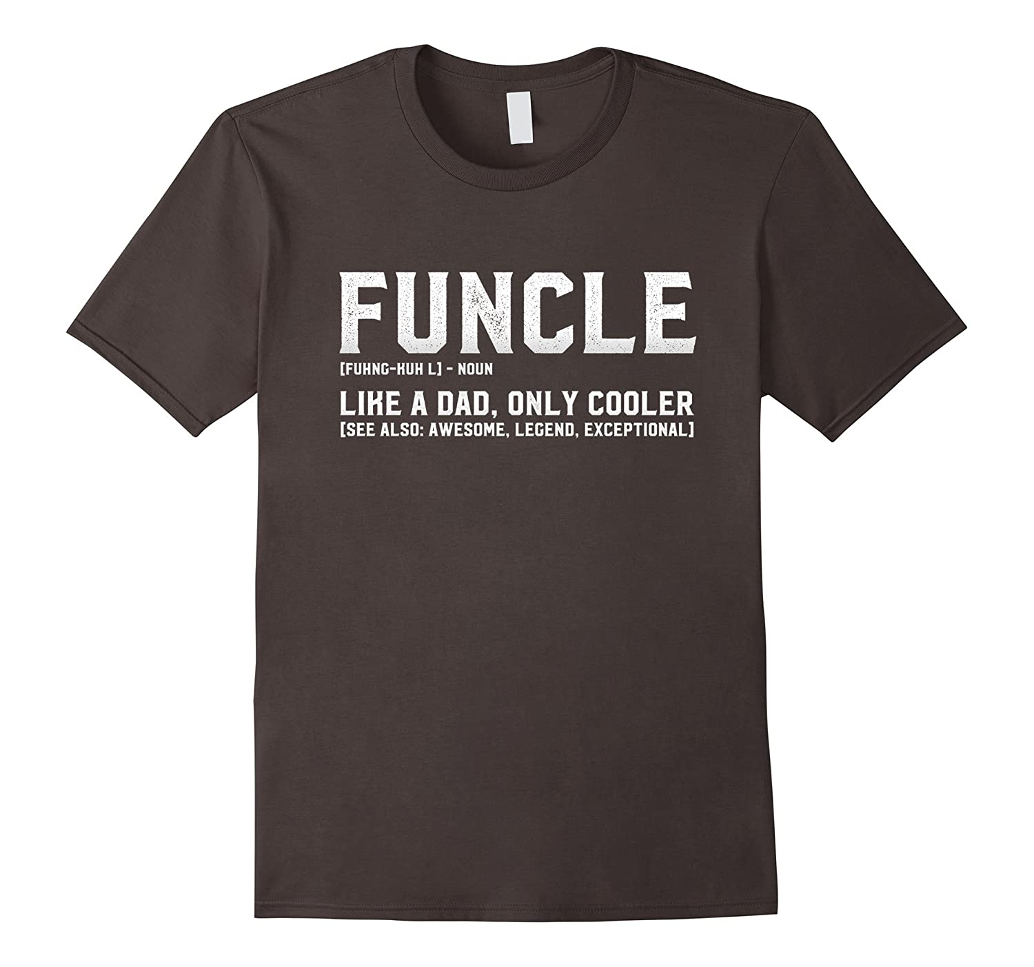 8f2fdfcf Mens Mens Funcle Definition T-Shirt - Funny Gift for Uncle-ANZ ...
