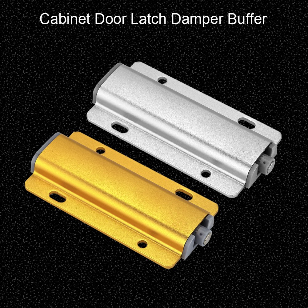 Yosooo Cabinet Door Drawer Damper Buffer Push To Open System Latch with Magnetic Tip 5 Pcs(Gold) by Yosooo (Image #6)