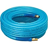 """Amflo 12-25E Polyurethane Air Hose - Non-marring, Smooth Finish, Easy to carry, Lightweight, Cold Weather Flexible, Great Indoors or Out, 1/4"""" X 100'"""