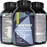 Best Prostate Health Supplement- Pure Saw Palmetto Berries Extract -Pygeum + Vitamins for Men -Natural Care + Cleanse Complex – Urinary Flow Support + DHT Blocker for Hair Loss – Brandon Sciences