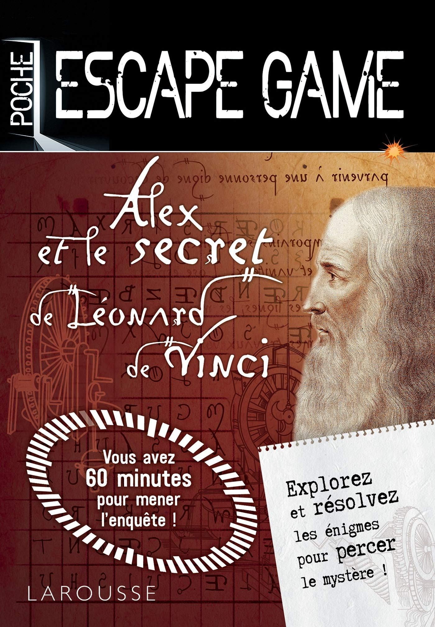 Amazon Fr Escape Game De Poche Sp Leonard De Vinci