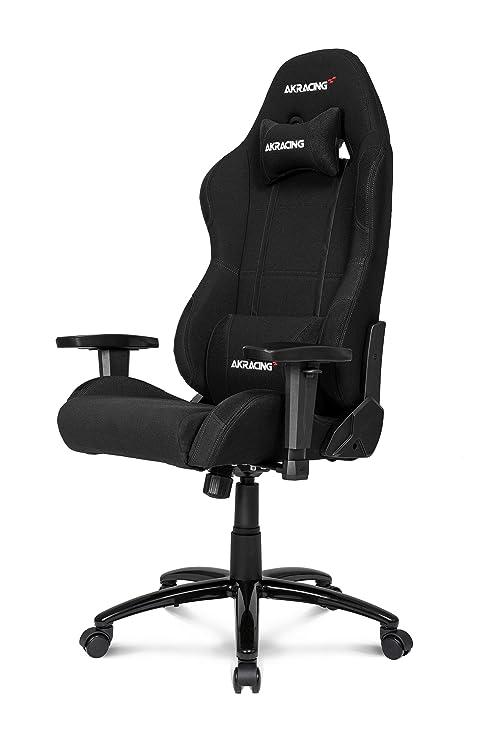 Sedia Gaming Akracing.Akracing Ak K7012 Bb Chair Black Fabric Fabric Metal 150 Kg