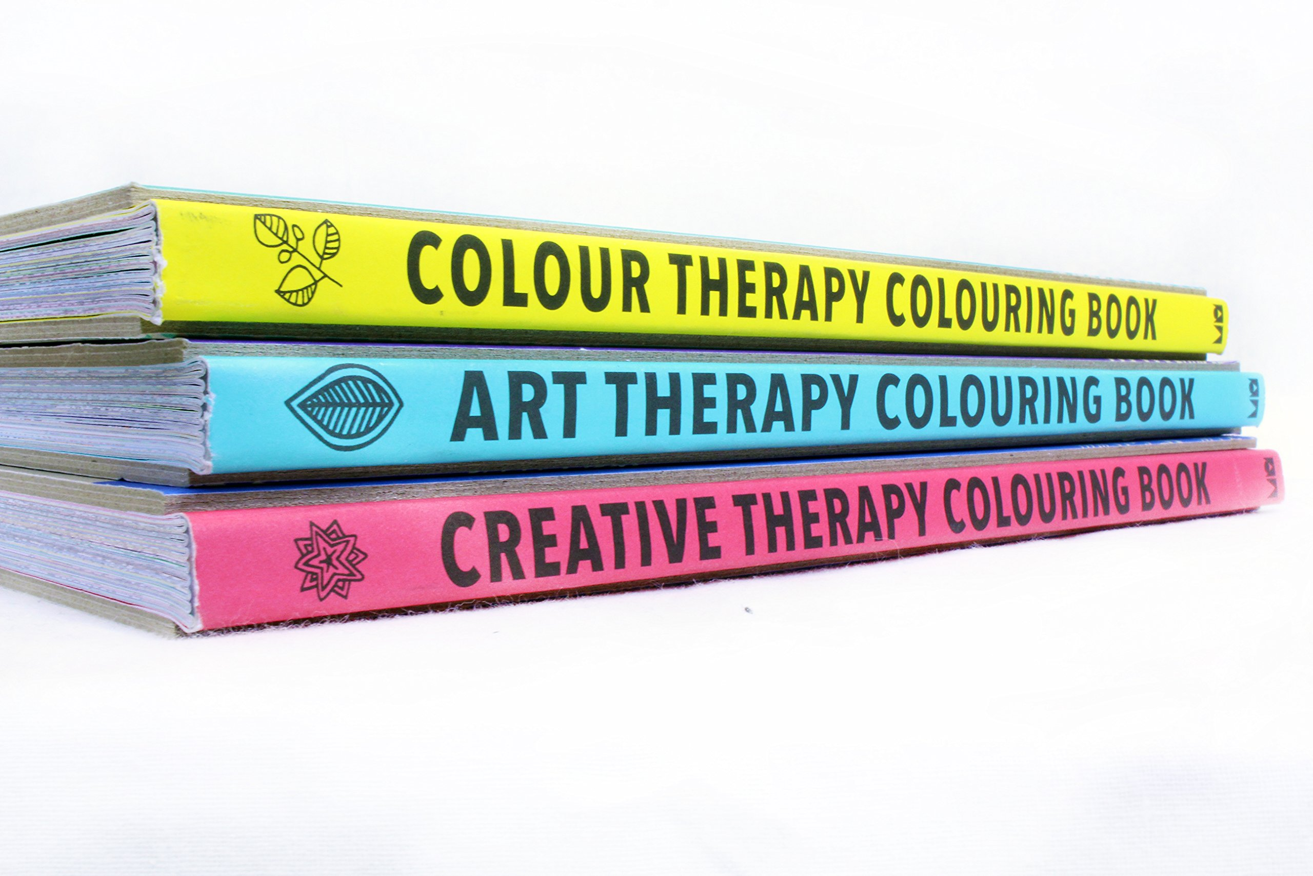 Art therapy coloring book michael omara - The Art Colour Creative Therapy Anti Stress Adult Colouring Books Collection The Art Therapy Colouring Book Colouring For Grown Ups Colour Therapy And