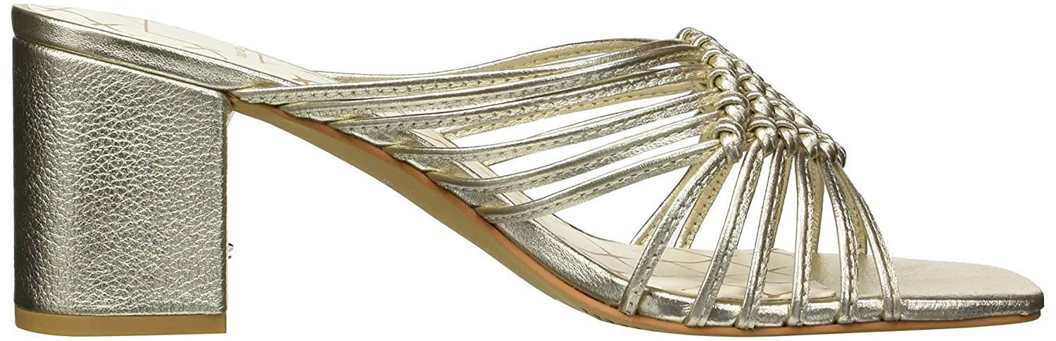 Dolce Vita Women's Delana Slide Sandal B07B9K8LZX 7 B(M) US|Lt Gold Leather