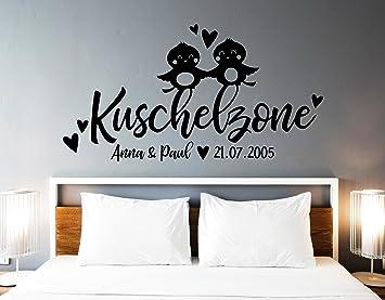 tjapalo® s-pkm348 Wandtattoo Schlafzimmer Namen Wandtattoo ...