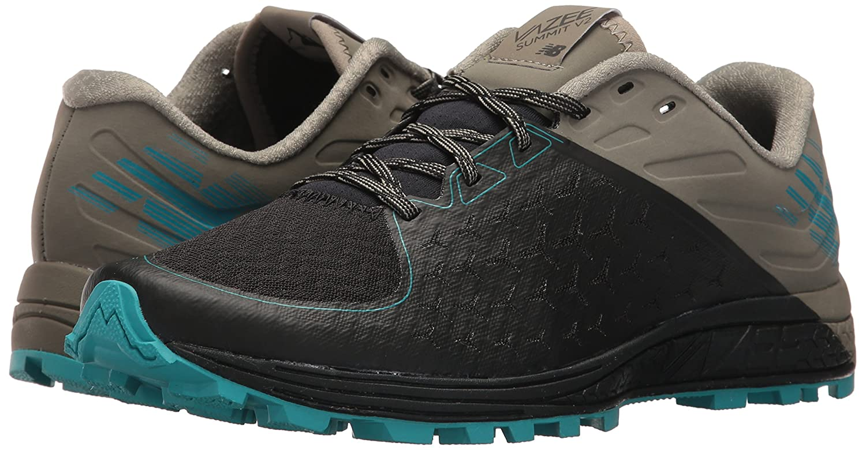 New Balance Women's Vazee Summit V2 Trail Running Shoe B01N2XMAM9 7 B(M) US|Black/Military Green