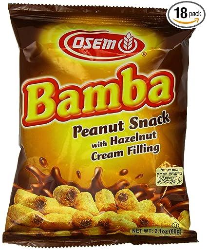 amazon com bamba hazelnut cream peanut butter snacks all natural