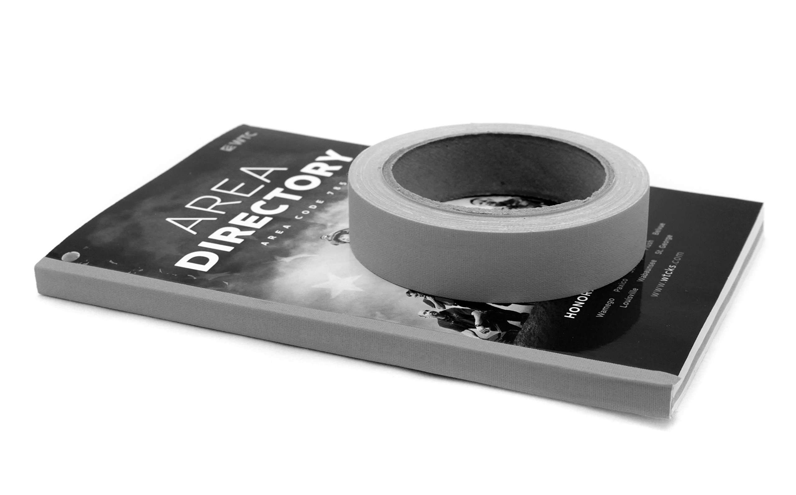 1'' Black Colored Premium-Cloth Book Binding Repair Tape | 15 Yard Roll (BookGuard Brand)