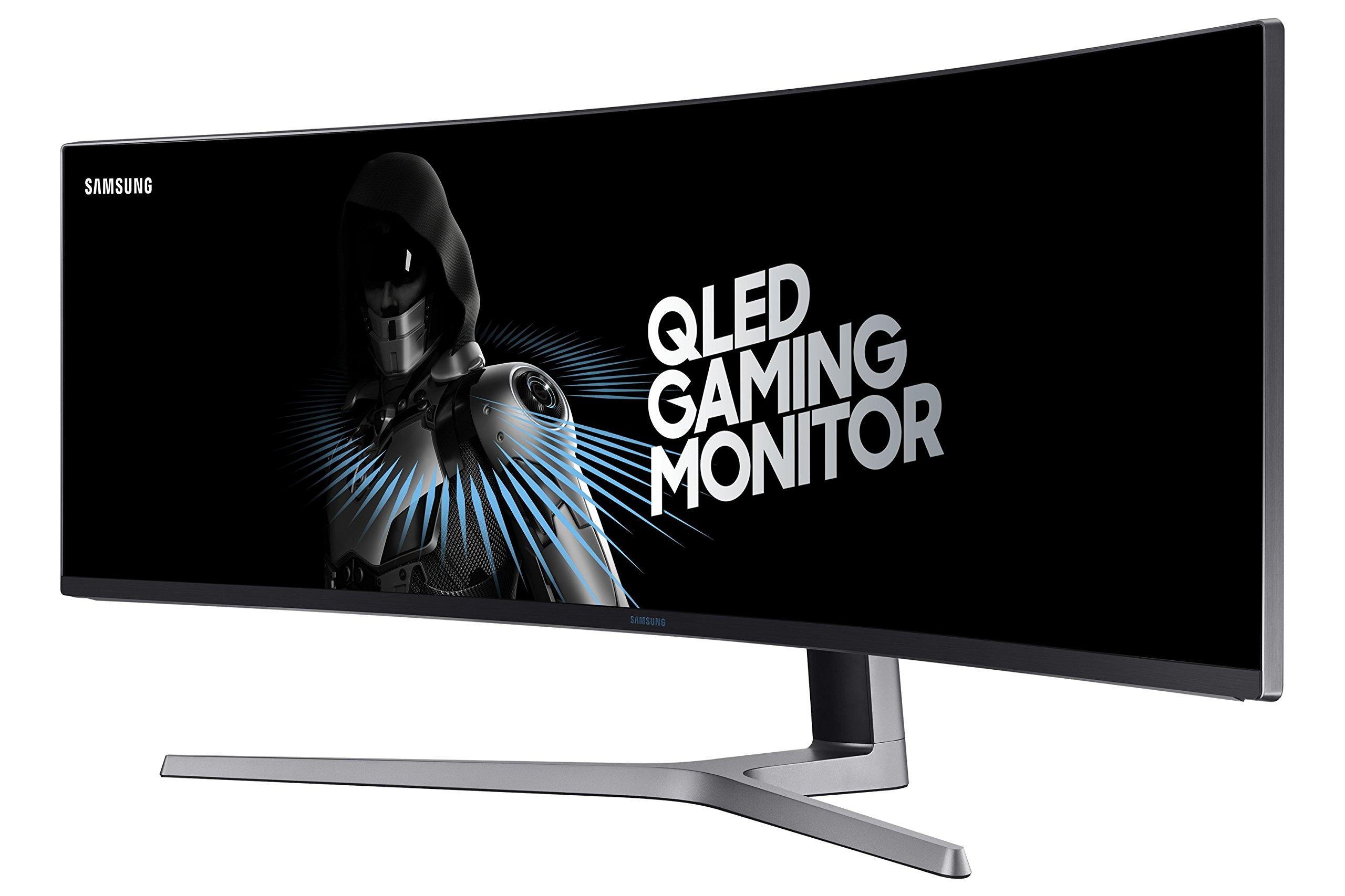 SAMSUNG 49-Inch CHG90 144Hz Curved Gaming Monitor (LC49HG90DMNXZA) – Super Ultrawide Screen QLED Computer Monitor, 3840… 2