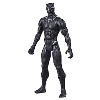 Avengers Marvel Titan Hero Series Black Panther Action Figure: Toys & Games