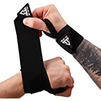 PULLUP & DIP Wrist Wraps, Professional Wrist Support for Weightlifting, Calisthenics, Crossfit, Bodybuilding & Strength…