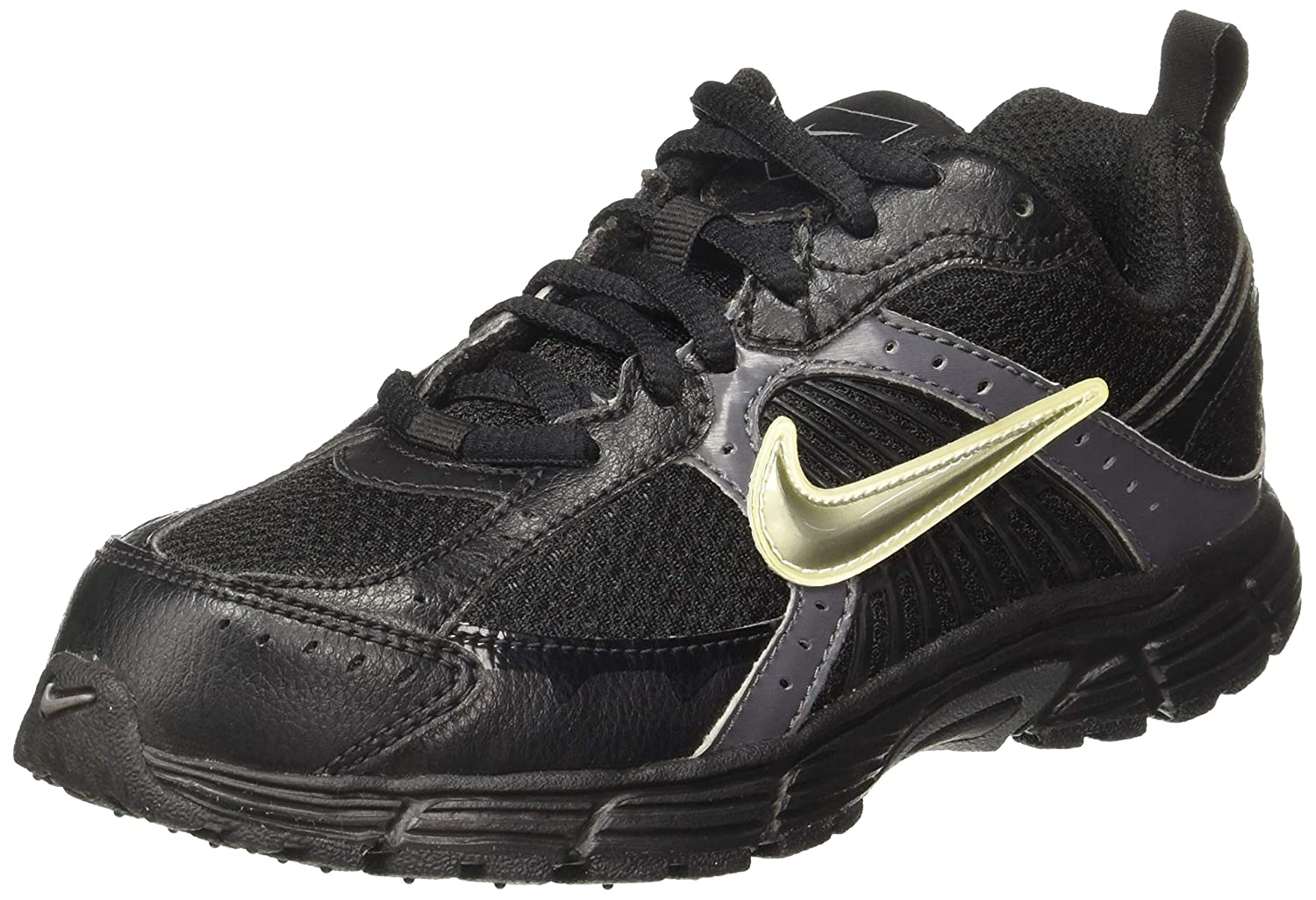 fd9ccbb2143fc Nike Unisex Dart 7 (Gs Ps) Black Sneakers - 13.5 UK India (32 EU)(1Y US)   Buy Online at Low Prices in India - Amazon.in