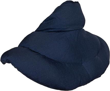 Nackenkissen W/ärmekissen Ein sehr wohliger Nackenw/ärmer Nackenh/örnchen mit Stehkragen hellblau Dinkelkissen