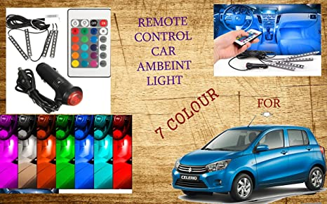 Remote Control Ambient Lighting Interior Led Light For Maruti Suzuki