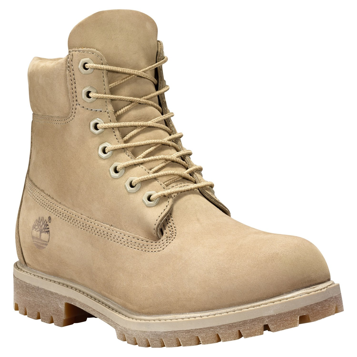 Timberland Men's 6'' Premium Monochrome Boot (11 D(M) US, Tan) by Timberland (Image #1)