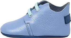 Ella Bonna Mini Baby Oxford Shoe | Full Grain Leather Sole | Flexible | Handmade