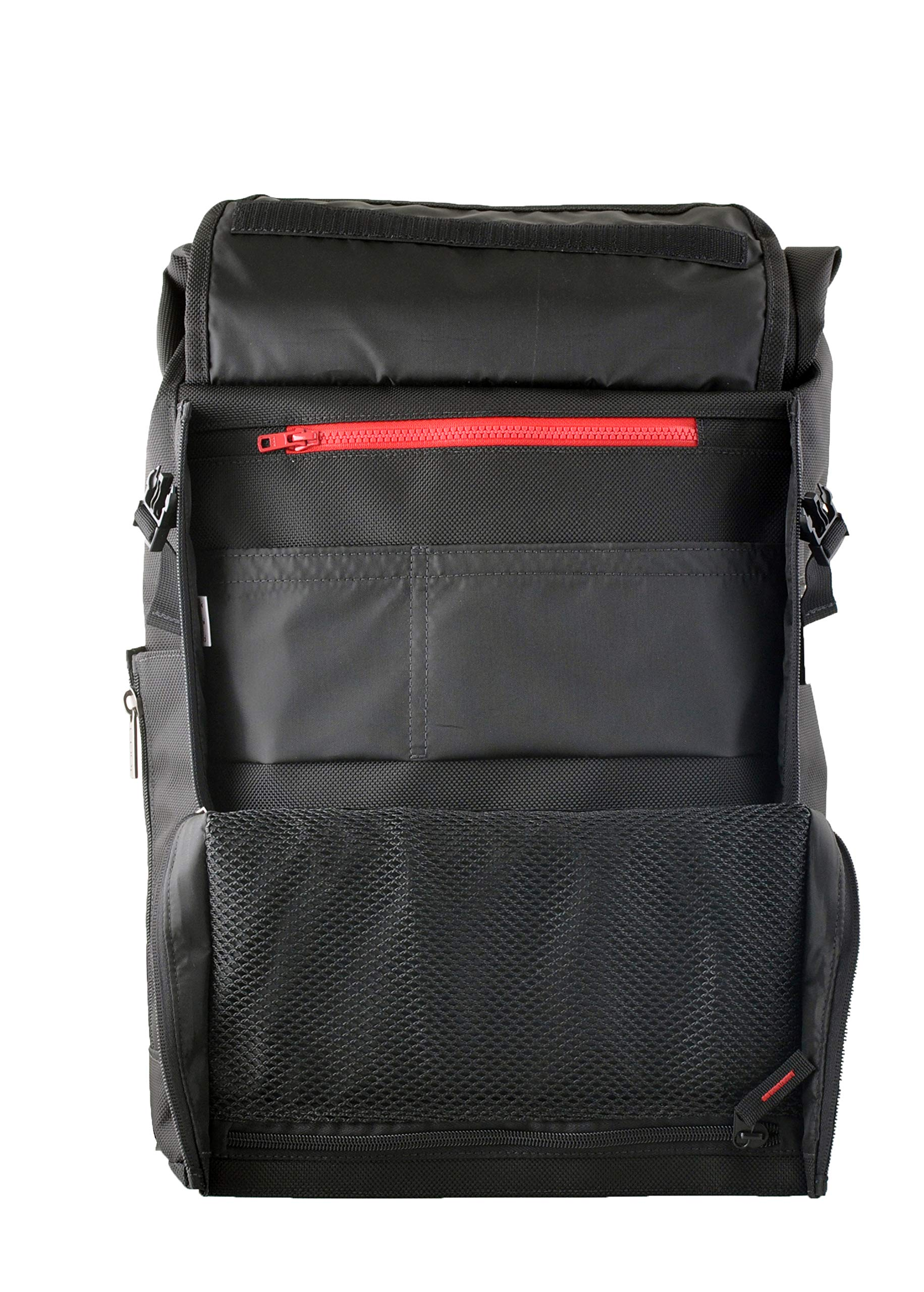 CODi Rolltop 17'' Backpack for Laptops - Daily Commute/Casual Messenger Pack (C7800)