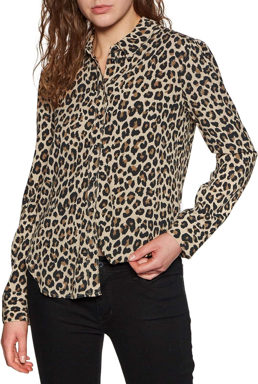 Brixton Kate WVN - Camiseta para Mujer Leopardo XS: Amazon.es: Ropa y accesorios