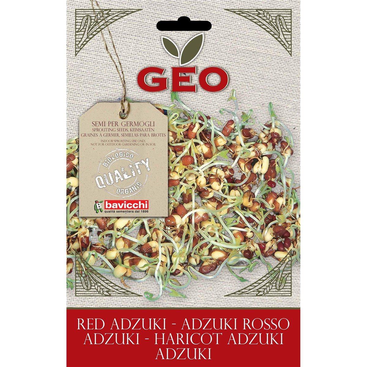 Geo ZFN0403 Keimsaaten Adzuki, braun