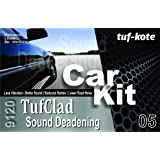 Tufkote Tufclad 9120 - Sound Deadening/Dampning, Sheet Size 500 X 250 Mm (10 X 20 Inches) Pack Of (5.00)