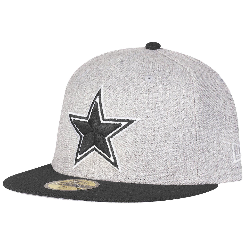 New Era 59Fifty Cap - Heather Dallas Cowboys Grau Top ...