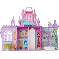 Disney Princess Pop-Up Castle Playset with Handle and 13 Accessories