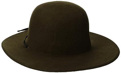 Amazon.com  Brixton Men s Tiller Wide Brim Felt Fedora Hat  Clothing 0369ca63e23f