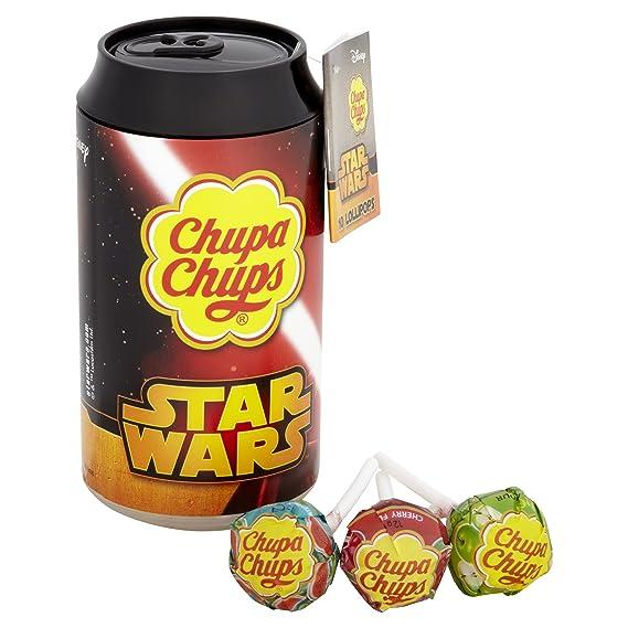 Chupa Chups - Estaño con 10 Chupetes Star Wars, paquete de 2 ...