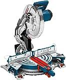 Bosch Professional Kapp- und Gehrungssäge GCM 12 JL (mit Laser, Sägeblatt, Spannzange, Karton, 230-240 Volt, 2.000 Watt, Sägeblattdurchmesser: 305 mm)