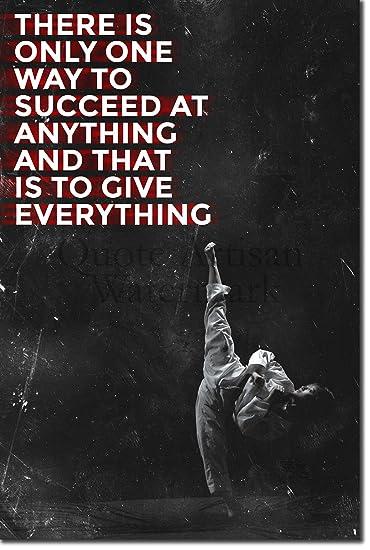 Amazon Taekwondo Motivational Poster 60 Succeed Photo Fascinating Taekwondo Quotes