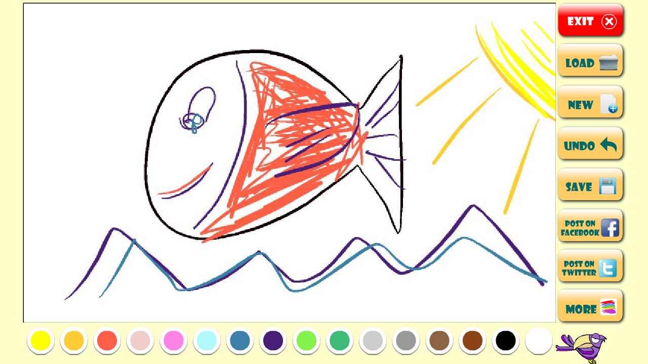 Niño Abriendo Un Regalo Dibujos Para Pintar: Niños: Dibujos Para Pintar: Amazon.es: Appstore Para Android