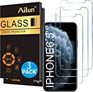 Ailun for Apple iPhone 11 Pro Max/iPhone Xs Max Screen Protector 3 Pack 6.5 Inch 2019/2018 Release Tempered Glass 0.33mm Anti