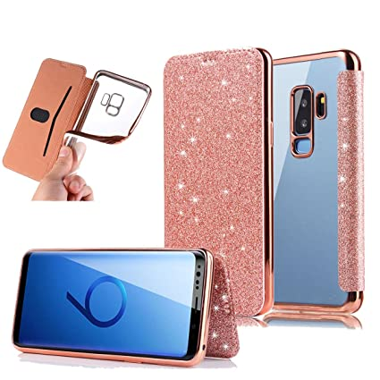Amazon.com: newseego Samsung Galaxy S9 Plus funda brillante ...