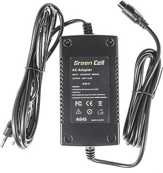 Green Cell® Cargador (42V 2A 84W) para Haibike KTM Kalkhoff Flyer ...